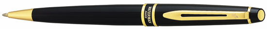 Waterman Expert Black Lacquer  Ballpoint Pen