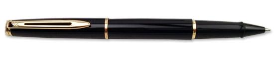 Waterman Hemisphere Black Lacquer  Rollerball Pen