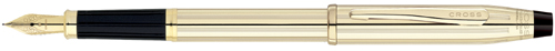Cross Century II 10K Gold Fountain Pen w/ 18K Gold Plated Medium Nib