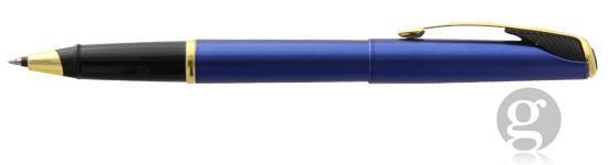 Parker Inflection Tranquil Blue Rollerball Pen