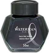 Waterman Refills Intense Black 50 ml  Bottled Ink