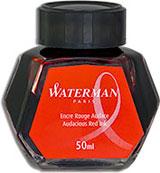 Waterman Refills Audacious Red 50 ml  Bottled Ink