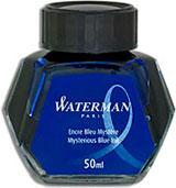 Waterman Refills Mysterious Blue 50 ml  Bottled Ink