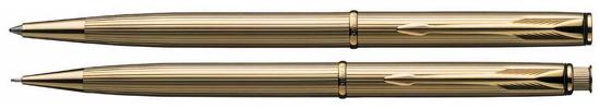 Parker Insignia 14K Dimonite G  Pen & Pencil Set