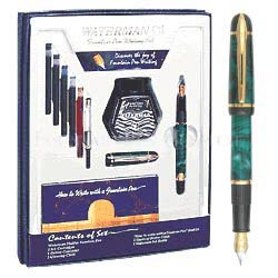 Waterman Phileas Green  Fountain Pen Kit