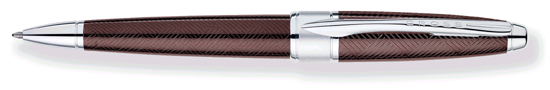Cross Apogee Sable Brown Ballpoint Pen