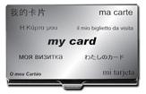 Acme Etched Card Case My Card - Adrian Olabuenaga  Accessory