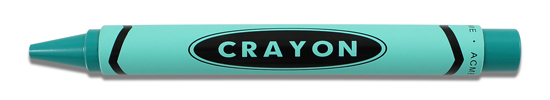 Acme Collezione Materiali Teal Crayon- Adrian Olabuenaga  Rollerball Pen