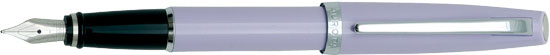 Aurora Style Gemstone Amethyst Medium Point Fountain Pen