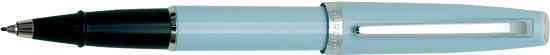 Aurora Style Gemstone Aquamarine  Rollerball Pen