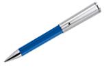 Aurora Tu Blue w/ Chrome Cap  Ballpoint Pen