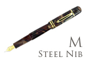 Bexley Poseidon Magnum II Bronze Sands Medium Point Fountain Pen