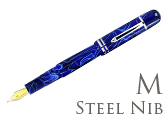 Bexley Poseidon Magnum II Blue Lagoon Medium Point Fountain Pen