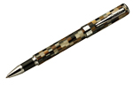 Conklin Stylograph Mosaic Brown/White  Rollerball Pen