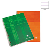 Clairefontaine Classic Wirebound Assorted Ruled 8 1/2 x 11  Notebook