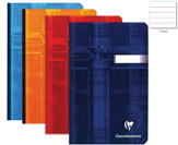 Clairefontaine Clothbound Assorted Ruled 4 1/4 x 6 3/4  Notebook