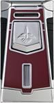 Colibri T-Series Empire Burgundy Lacquer / Polished Chrome  Lighter