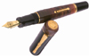 Delta Indios Vermeil Extra Fine Point Fountain Pen