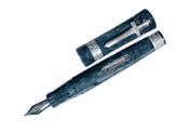 Delta Tuareg Special Limited Edition Silver Fine Point Fountain Pen