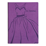 Eccolo Essential Collection Purple Be Fabulous  Journal