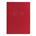 Eccolo Essential Collection Red Bicycle Lined  Journal