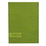 Eccolo Essential Collection Wavy Green  Journal