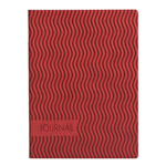 Eccolo Essential Collection Wavy Red  Journal