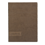 Eccolo Essential Collection Wavy Tan  Journal