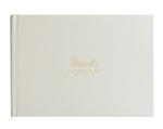 Eccolo Vintage Art Collection White Wedding  Guestbook