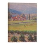 Eccolo Vintage Art Collection Vintage Wine  Journal