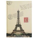Eccolo Passport Eiffel Tower  Journal
