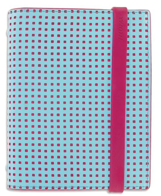 Filofax Mode Aqua/Pink  Personal Organizer