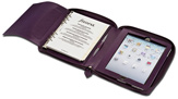 Filofax Pennybridge Purple iPad Holder  A5 Organizer