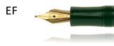 Kaweco Refills Green for Classic Extra Fine Point Nib