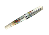 Laban Kaiser Hand-Painted Windmill Broad Point Fountain Pen