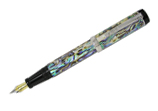 Laban Abalone Large Broad Point Fountain Pen