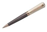 Laban Katherine Lined IP Brown & Ivory Resin Cap  Ballpoint Pen