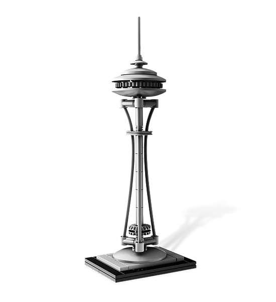 Lego Architecture Seattle Space Needle  Collectible