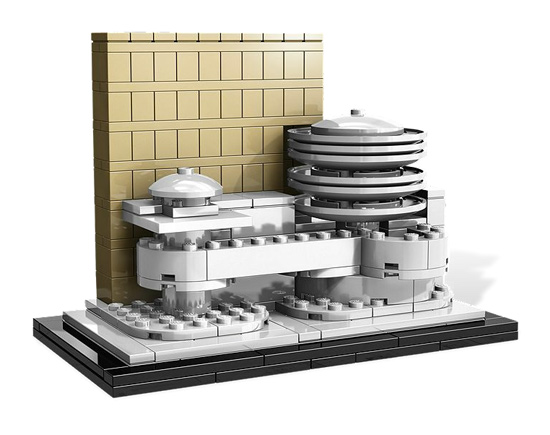Lego Architecture Guggenheim Museum  Collectible