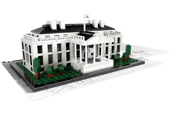Lego Architecture White House  Collectible
