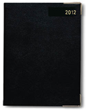 Letts of London Classic Black Day to Page A5 Size  Planner