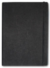Letts of London Noteletts Large 9 x 6 Blank Black  Notebook