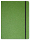 Letts of London Noteletts Large 9 x 6 Blank Green  Notebook