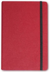 Letts of London Noteletts Large 9 x 6 Blank Burgundy  Notebook