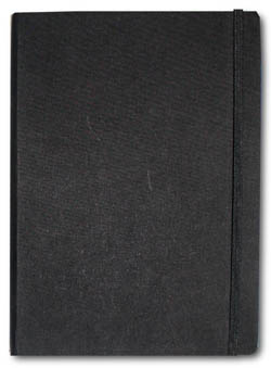 Letts of London Noteletts Large 9 x 6 Grid Black  Notebook