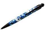 Monteverde One Touch Stylus Camouflage Blue 2 in 1 Stylus for Tablets, iPad, iPhone, Droid, Smartphones, and more  Ballpoint Pen