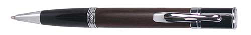Monteverde Jewelria Solid Wood - Walnut  Rollerball Pen