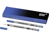Montblanc Refills Pacific Blue 2 Pack Medium Point Rollerball Pen