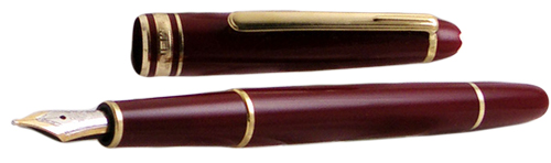 Montblanc Meisterstuck Bordeaux Resin Classique Medium Point Fountain Pen