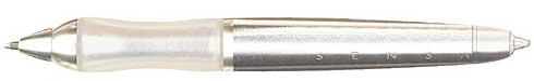 Sensa Minx Crystal Silver Stylus  Ballpoint Pen